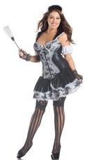 Plus Size Shaper French Maid Costume