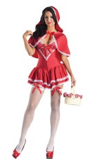 Deluxe Shaper Little Miss Red Costume