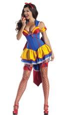 Deluxe Shaper Poison Apple Snow White Costume