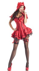 Deluxe Shaper Devil Costume