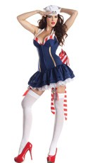 Deluxe Shaper Pin Up Sailor Costume