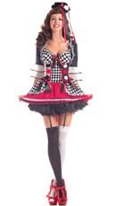Sassy Circus Jester Costume