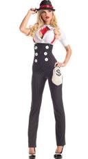 Drop Dead Heist Hottie Costume