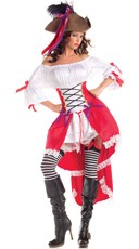 Saucy Pirate Maiden Costume
