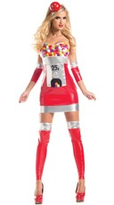 Delicious Bubblegum Hottie Costume