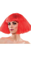 Edgy Red Wig