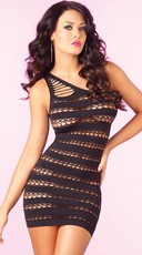 Sizzle Stripes Seamless Dress