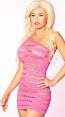 Sizzle Stripes Seamless Dress
