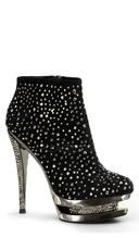 Rhinestone Embellished Stiletto Heel