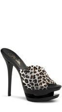 6 Inch Stiletto Heel, 1 1/2 Inch Dual Pf Slide