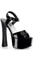 "6 1/2"" Chunky Heel Sandal"