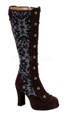 Steampunk Victorian Knee Boot