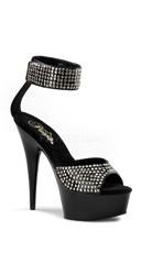 6 Inch Heel, 1 3/4 Inch Pf Sandal