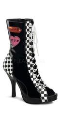 4 1/2 Inch Heel, 3/4 Inch Hidden Pf Racer Girl Costume