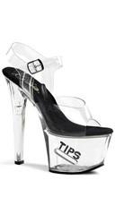 7 Inch Tips Sandal