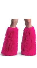 Faux Fur Leg Warmers