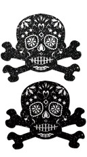 Glitter Skull Candy Pastease