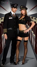 Mile High Captains Couples Costume
