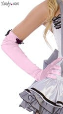 Pink Cigarette Gloves