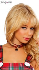 Plaid Choker