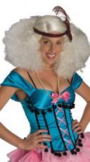 Platinum Burlesque Wig