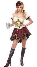 Plus Size Beer Garden Girl Costume