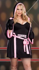 Plus Size Sexy Boxer Girl Costume