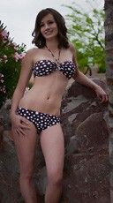 Sexy Polka Dot Bikini Set