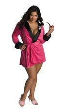 Pink Sexy Playboy Smoking Jacket Costume