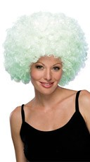 Black Light  Afro Wig