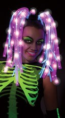 Pink Light Up Wig