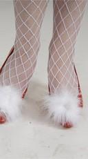 Marabou Shoe Puffs