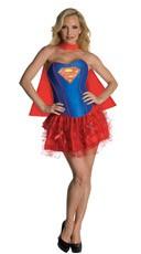 Sexy Supergirl Corset Costume
