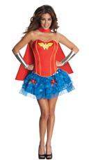 Sexy Wonder Woman Corset Costume