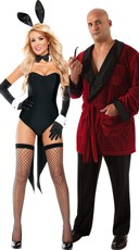 Hefner And Bunny Couples Costume