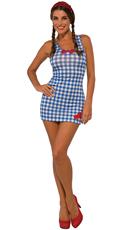 Country Girl Tank Dress Costume
