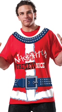 Men's Naughty Christmas Shirt