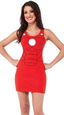 Iron Man Armor Tank Dress