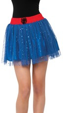 Glitter Spiderman Petticoat Skirt