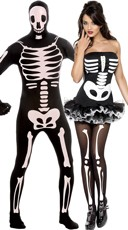 Nothing But Bones Couples Costume