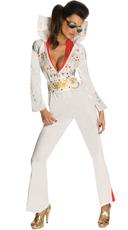 Sexy Secret Wishes Elvis Costume