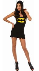 Hooded Batgirl Costume Dress
