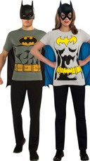 Retro Batman T Shirt Couples Costume