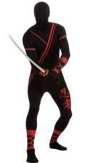 Men's Ninja Morphsuit Costume