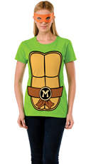 Michelangelo Teenage Mutant Ninja Turtle T-Shirt Costume