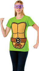 Donatello Teenage Mutant Ninja Turtle T-Shirt Costume