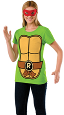 Raphael Teenage Mutant Ninja Turtle T-Shirt Costume