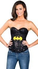 Sequin Batgirl Corset