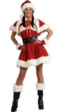 Sexy Velvet Miss Santa