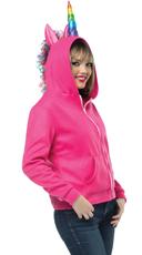 Pink Unicorn Hoodie Costume